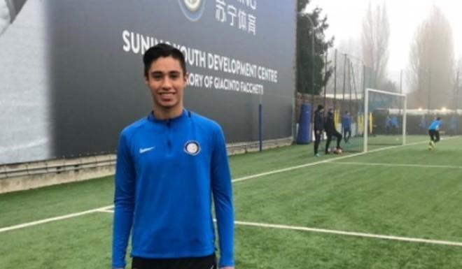 Al Inter, con 16 años